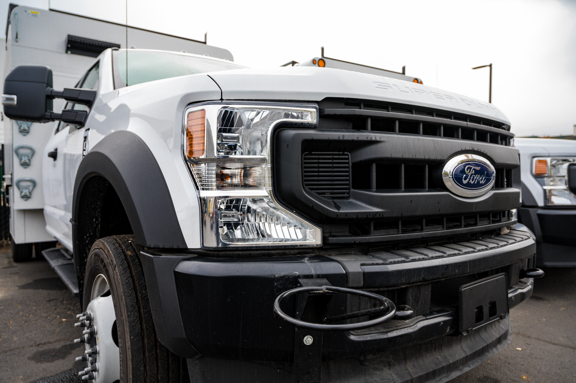 Ford F550 Chip Truck